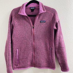 Patagonia better sweater, full zip ♥️